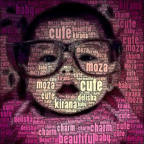 my moza by Dodi Yoga - Typography Words ( deemozart )