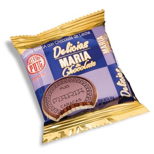 galletas delicias maria chocolate display 18und