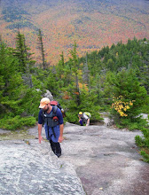 Photo: Nearing the top of Catamount.