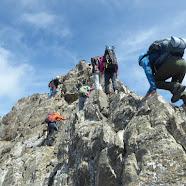 Fotos de Posets pola aresta de Espadas, Val de Benás, parque de Posets – Maladeta (Pireneos), 2 de xullo de 2021