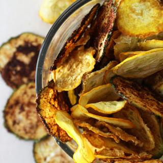 Raw Vegan Zucchini Chips