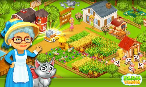 Farm Town:Happy City Day Story screenshot 6