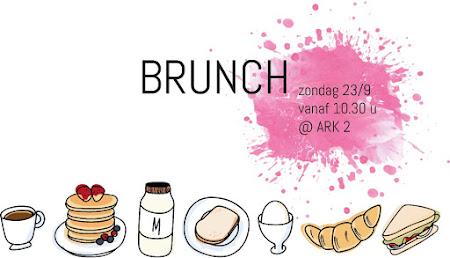 ARK-BRUNCH ZONDAG 23/9