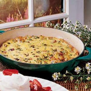 Potato Omelet.