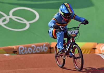 Elke Vanhoof eindigt erg knap zesde op de Olympische Spelen