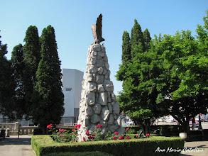 Photo: Monumentul Eroilor Aviatori  Piata 1 Decembrie 1918 (2011.06.16)   http://ana-maria-catalina.blogspot.ro/2013/05/turda-monumentul-aviatorilor.html