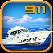911 Emergency Rescue Navy Boat