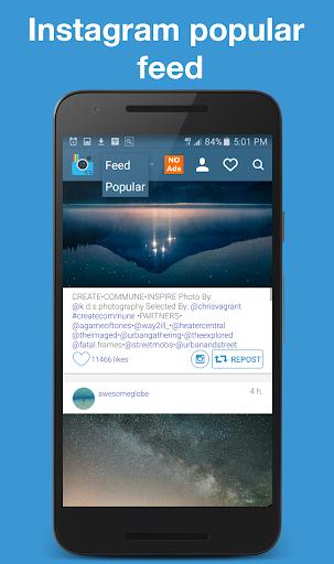 EzRepost+ Repost for Insta 1.0.5 screenshots 2
