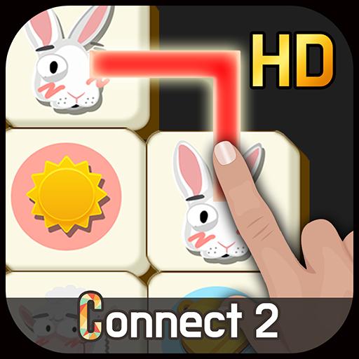 Connect2 HD -free mahjong game