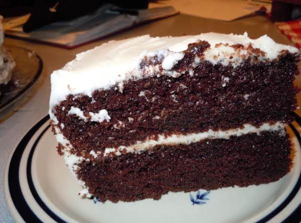 Very Moist Deep Dark Chocolate Cake Recipe Just A Pinch Recipes