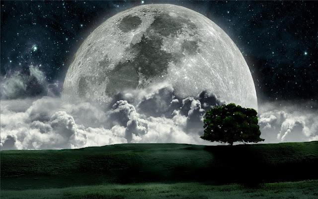 Full moon Themes & New Tab