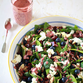 Super Salad with Aged Balsamic and Blueberry Vinaigrette Recipe