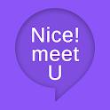 チャットトーク Nice ! meet U icon