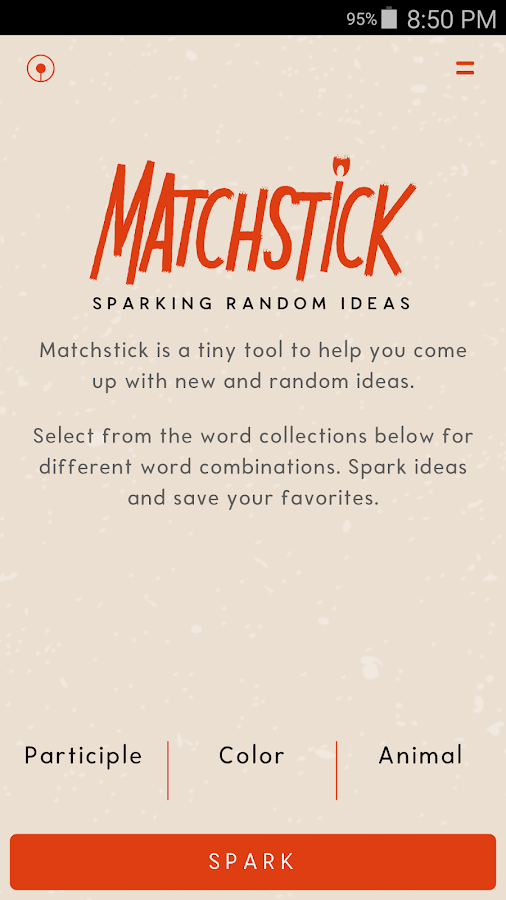 Matchstick: Spark random ideas- screenshot
