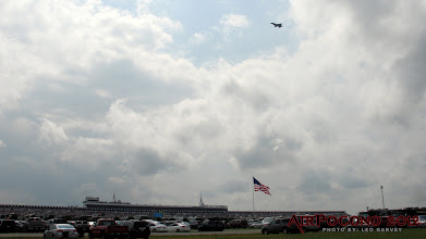 Photo: The flyover for Sunday's race