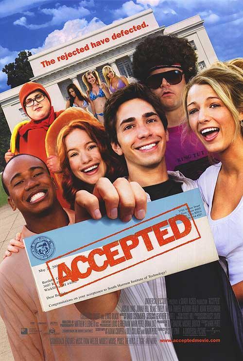 نتيجة بحث الصور عن Accepted movie poster
