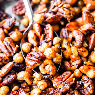 Instant Pot Candied Chickpea Cajun Trail Mix Recipe