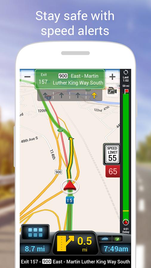 CoPilot Premium USA - GPS- screenshot