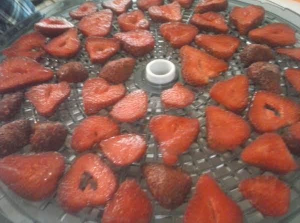 Dehydrated Strawberrys Recipe