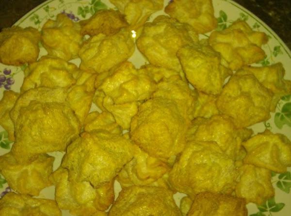 Calf Slobber (meringue) Spiced Cookies Recipe