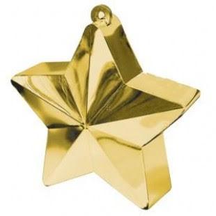Ballongtyngd - Stjärna guld