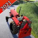 Tractor Drive 3D farm simulator icon