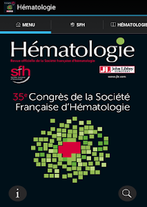 Hématologie congrès SFH 2015 screenshot 12