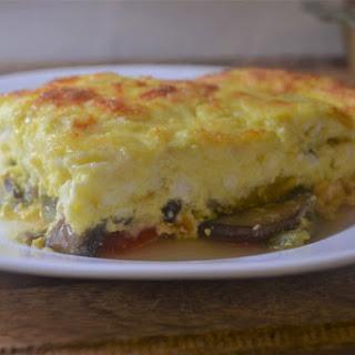 Super Fluffy Crustless Quiche (Whole30, Paleo, Gluten-Free, Grain-Free, Vegetarian).