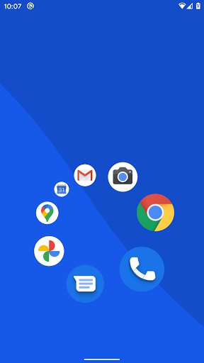 Pie Launcher screenshots 1