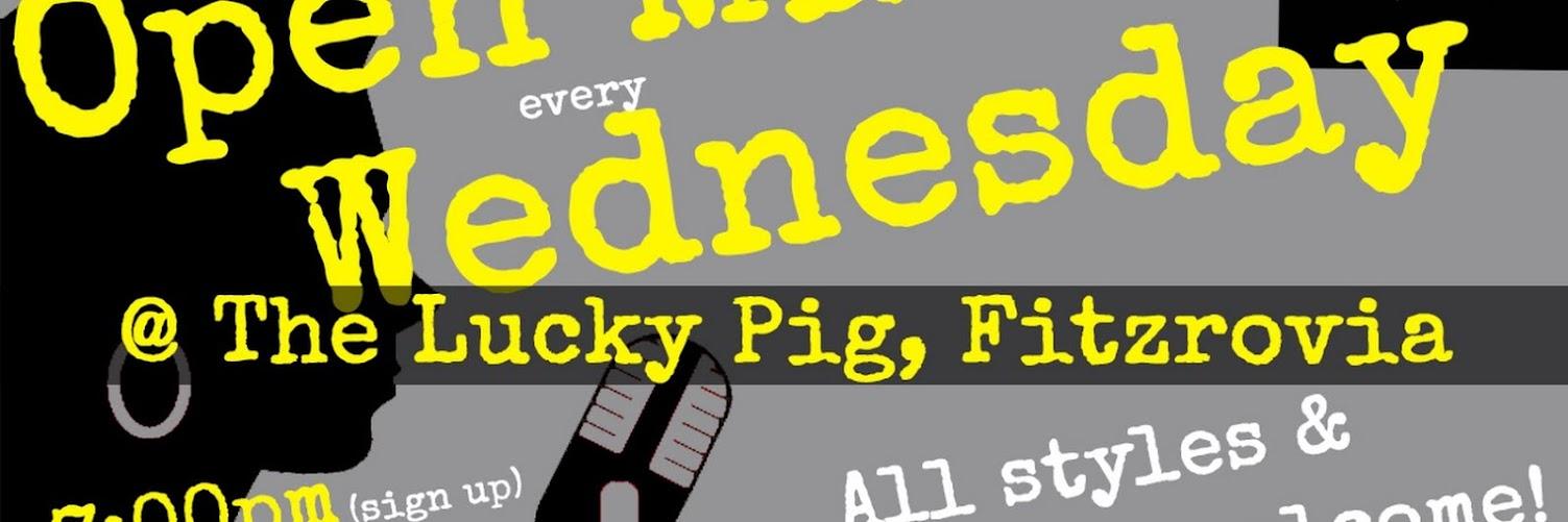 UK Open Mic @ Lucky Pig in Fitzrovia / Warren Street / Oxford Street / Regent's Park on 2019-10-02