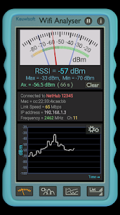 Wifi Analyser- screenshot thumbnail