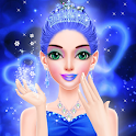 Blue Princess - Makeover Games : Makeup Dress Up icon