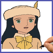 How to draw Little Princess Sara