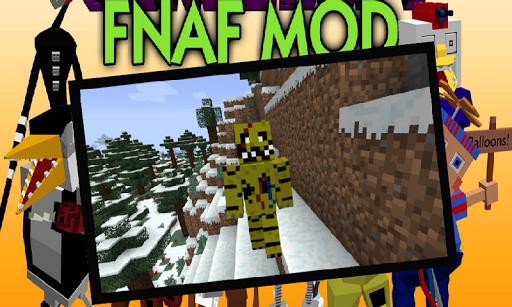 Mod FNaF Minecraft PE 0.14.0