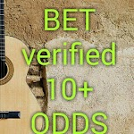 BET VERIFIED 10+ ODDS icon