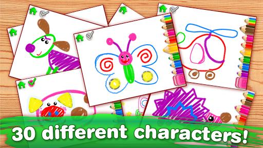 Children Coloring Games for kids! Preschool games 2.0.1.0 screenshots 5