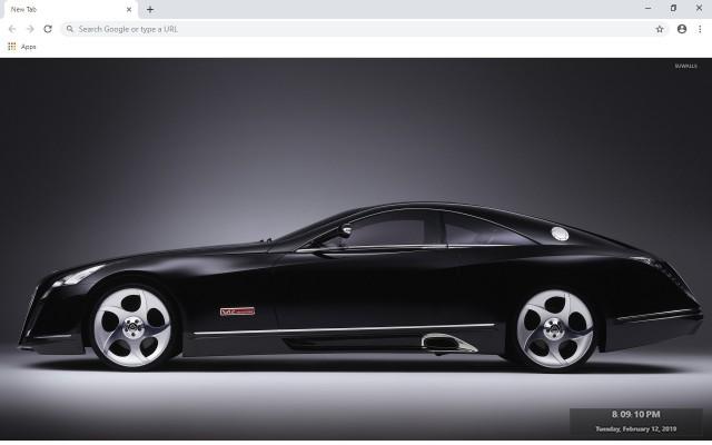 Mercedes Benz Maybach Exelero New Tab Theme