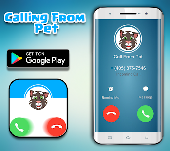Call From Talking Pet - Fake Call - náhled