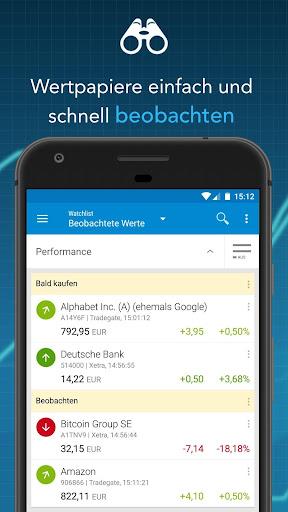 Finanzen100 - Börse, Aktien & Finanznachrichten  screenshots 3