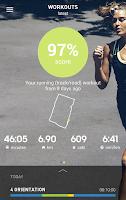 Screenshot of adidas train & run