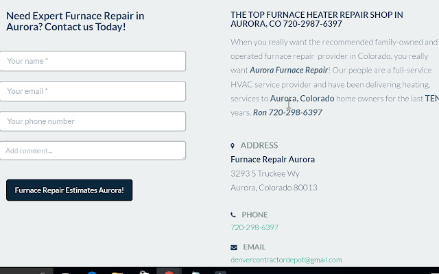Furnace Repair Quotes
