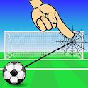 Shoot Goal-  Rope Swing Physics icon