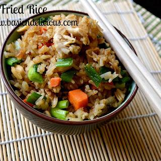 Chicken Fried Rice #WeekdaySupper