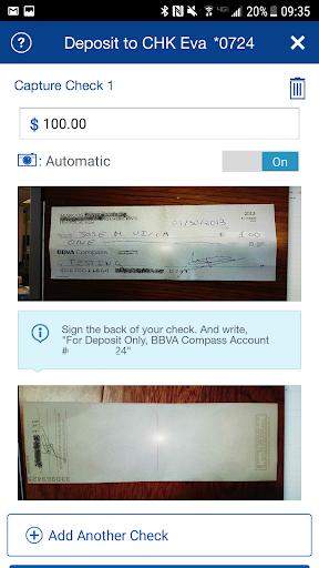 BBVA Compass Banking Screenshot