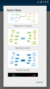 SimpleMind Free mind mapping screenshot 4