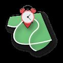 Pin Alarm (Location Alarm) icon