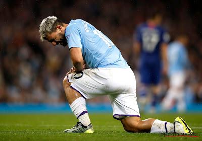 Coup dur pour Manchester City : Aguëro sera encore absent un certain temps