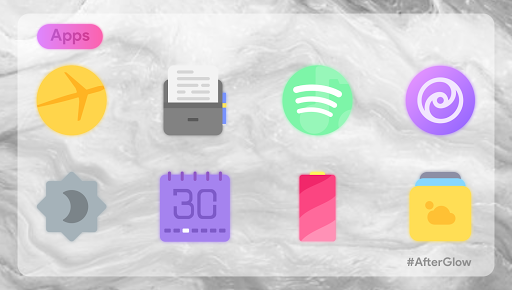 Afterglow Icons Free 2.3.4 screenshots 5