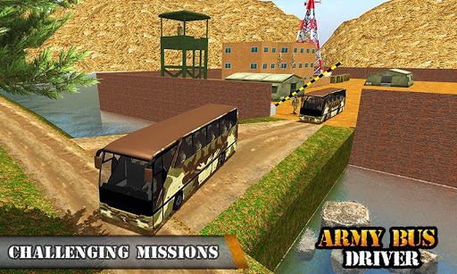Army Bus Driving 2019 - Military Coach Transporter 1.0.8 screenshots 5