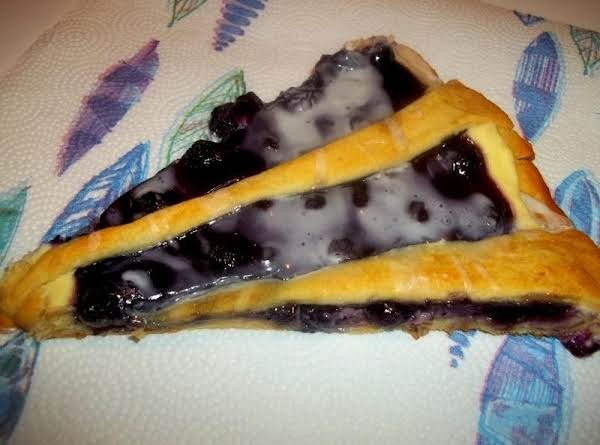 Blueberry Dessert Pizza Recipe
